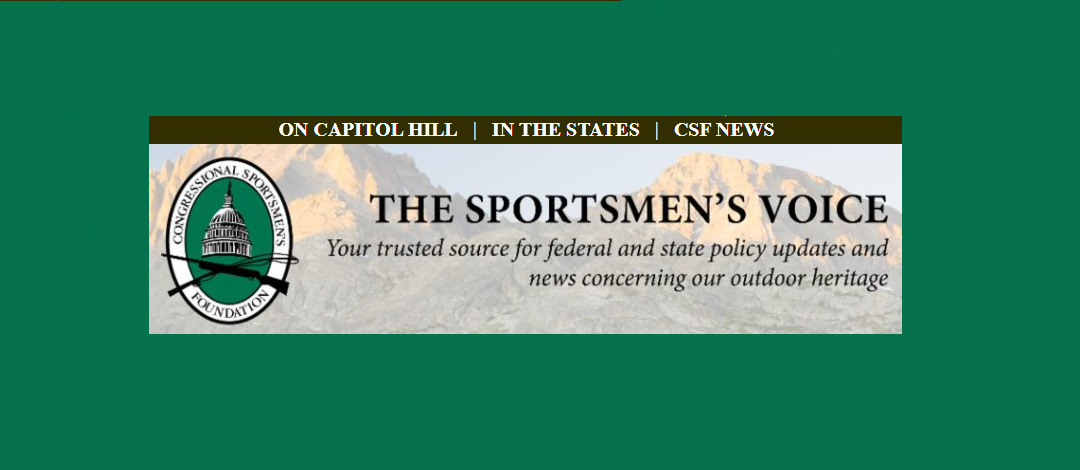 Congressional Sportsmen's Foundation Brings You The Sportsmen's Voice