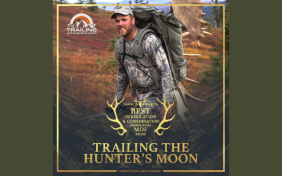 DSC's Trailing the Hunter's Moon Wins Best in Education and Conservation
