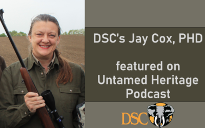 DSC's Jay Cox on Untamed Heritage Podcast