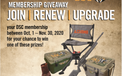 Join, Renew or Upgrade Today For Your Chance to Win!