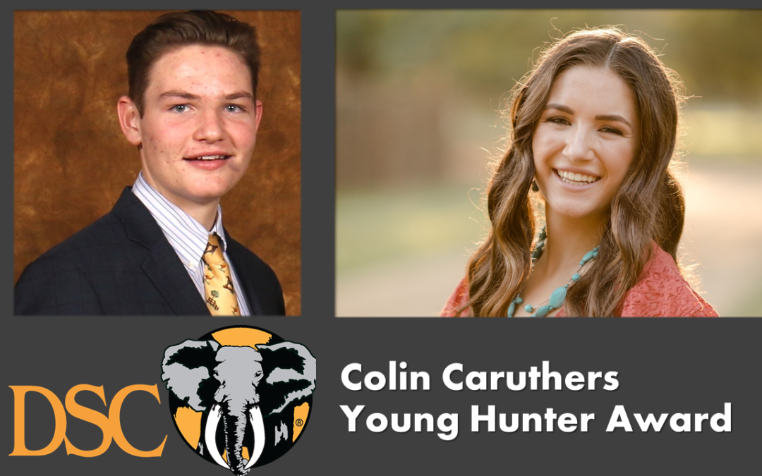 Parker Lee Stepan and Shae Greidanus Named Recipients of 2021 Colin Caruthers Young Hunter Award