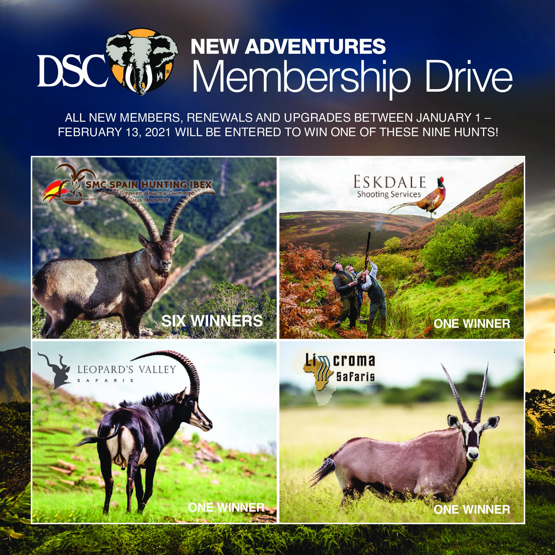 New Adventures Membership Drive