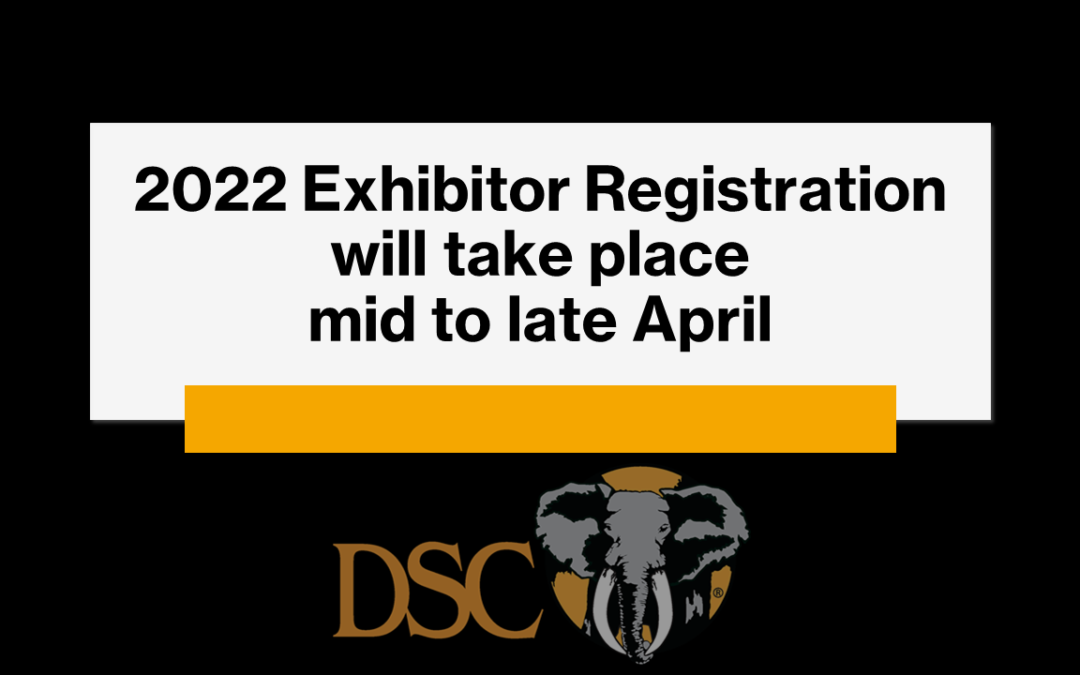 Update for 2022 Exhibitors