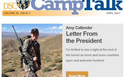 Letter From the President: April Issue
