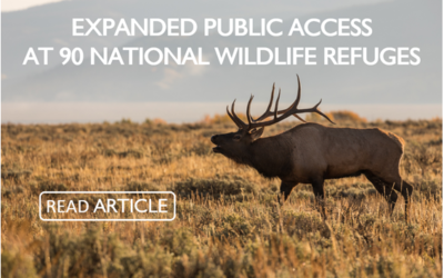 Expanded Public Access at 90 National Wildlife Refuges