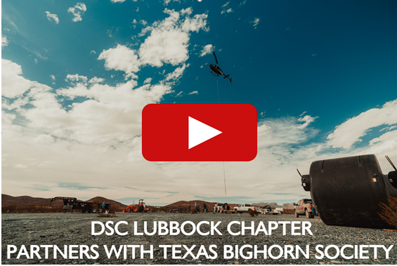 DSC Lubbock Chapter Partners with Texas Bighorn Society